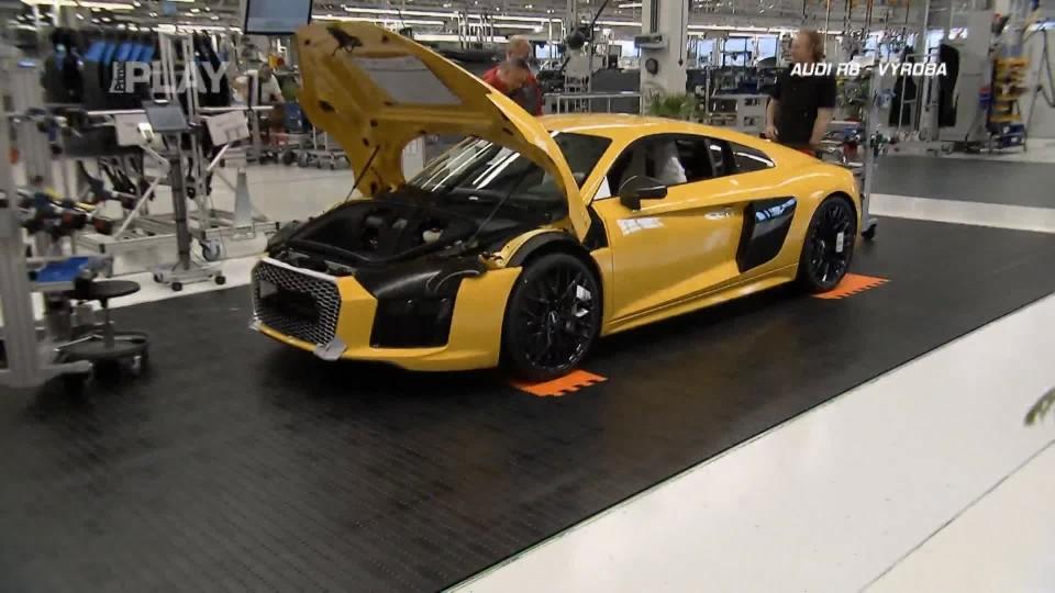 Audi R8 - výroba I.část
