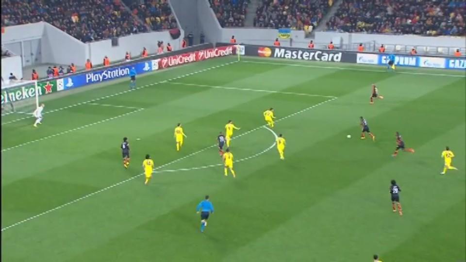 Sestřih zápasu - Shakhtar Donetsk v BATE (5.11.2014)
