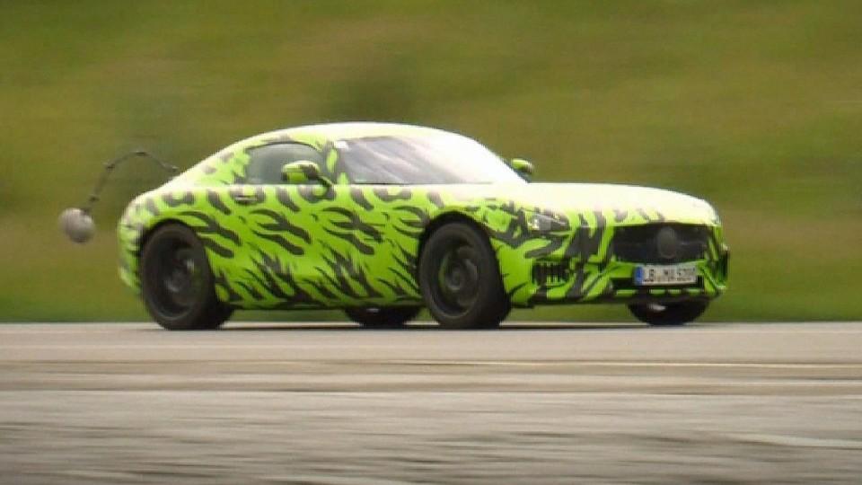 Testování Mercedes-AMG GT II