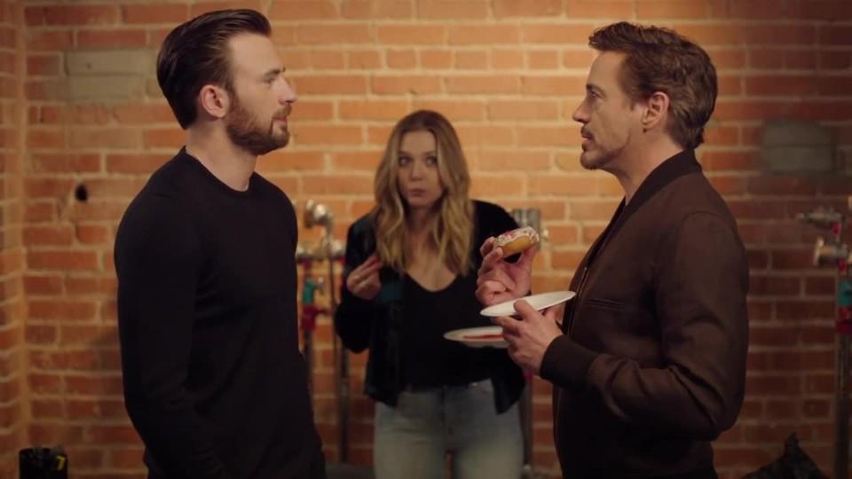 VIDEO: Downey vs. Evans