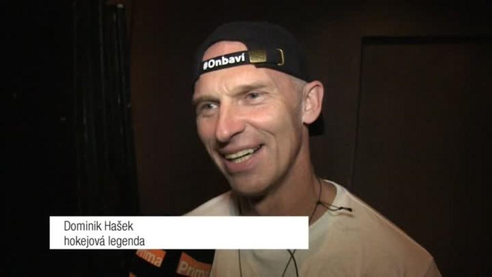 Hokejová legenda Dominik Hašek v SJK