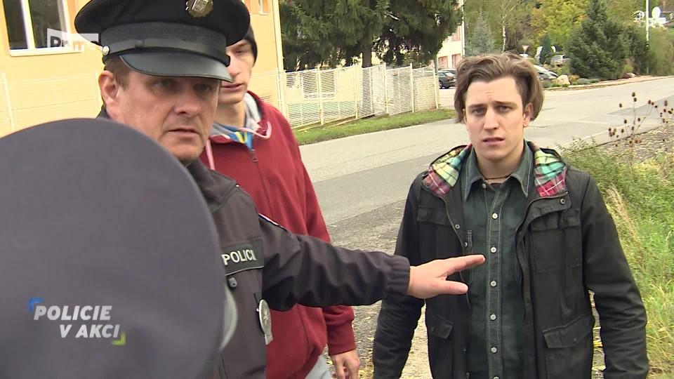 Podivný muž - Policie v akci