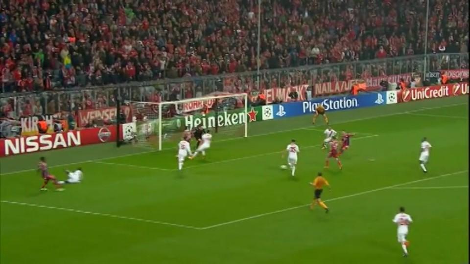 Gól - Ribery 38 (5.11.2014)