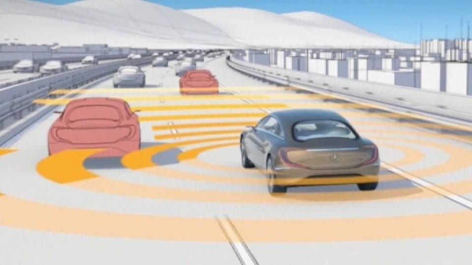 Mercedes-Benz asistenční systémy budoucnosti
