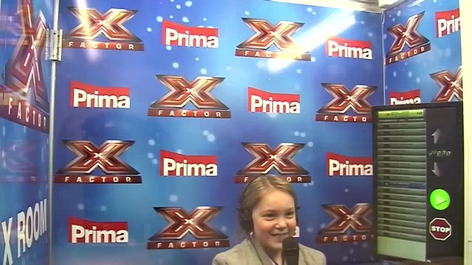 X Factor - Anet marvánková