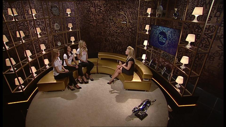 TOP STAR Magazín 2016 (10) - Miss ve studiu (1. Kristýna Kubíčková, 2. Lucie Dušková, 3. Natálie Kotková) - 2 část