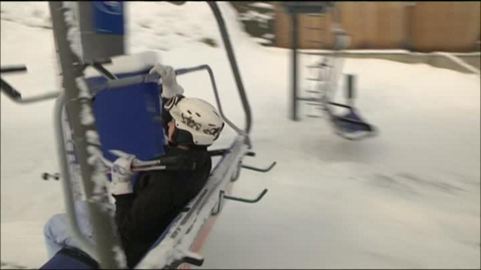 TOP STAR 26.1.2016 - Filipa Šebová lyžování
