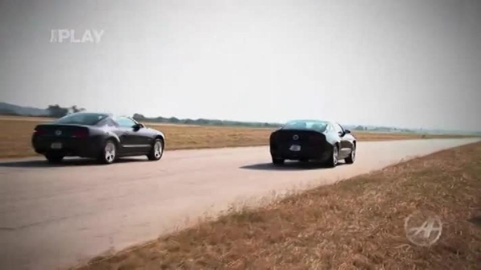 Pozvánka závody Mustangů