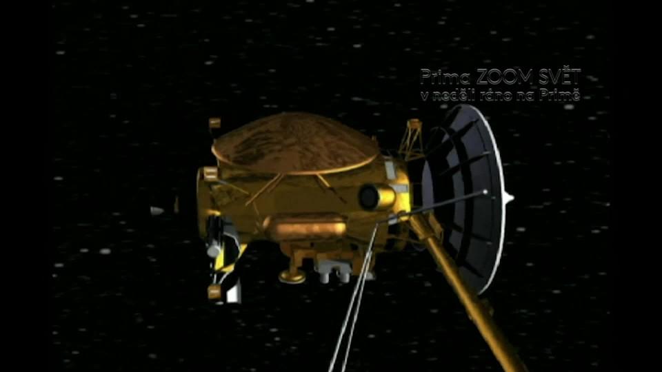 SVĚT: Cassini u Saturnu