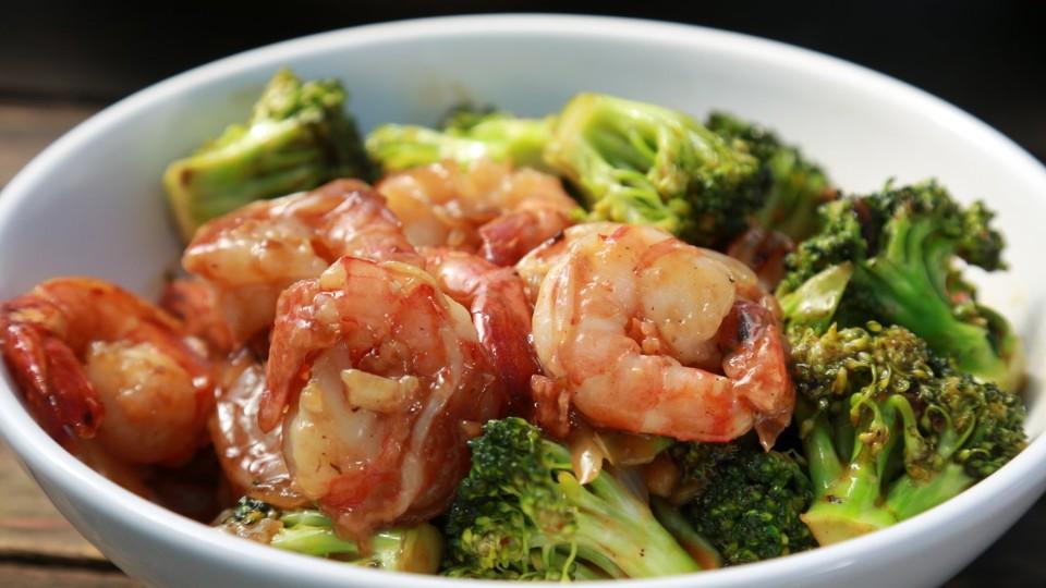 RTŠ! II (3) - Smažené krevety s brokolicí