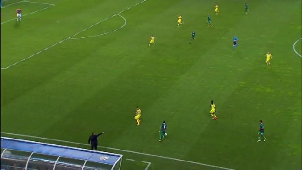 Sestřih zápasu - Sporting v Maribor (25.11.2014)