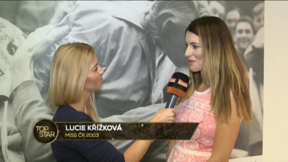 TOP STAR 12.9.2016 - Lucie Křížková o těhotenství