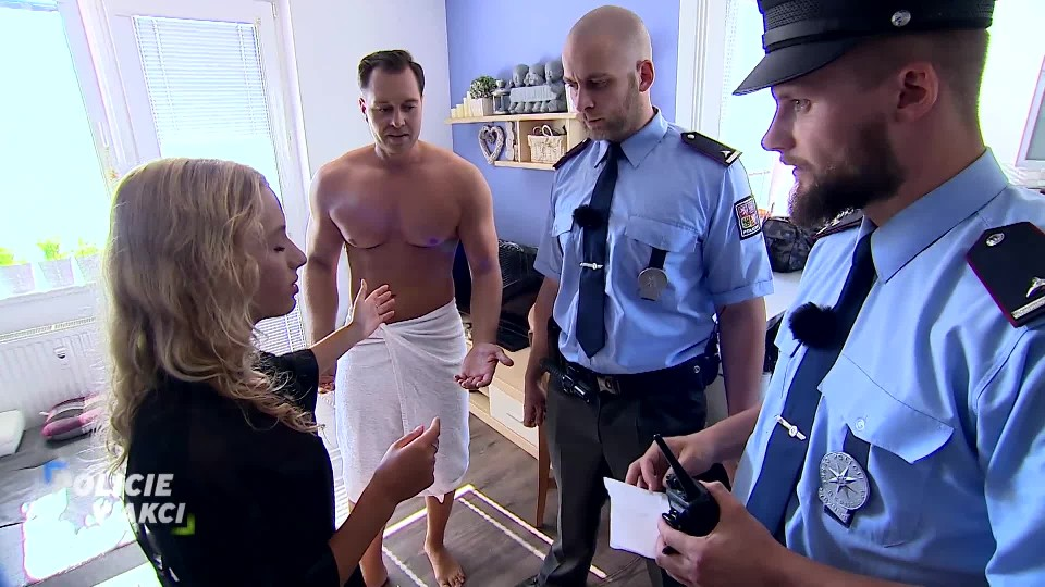 Fotka – Policie v akci