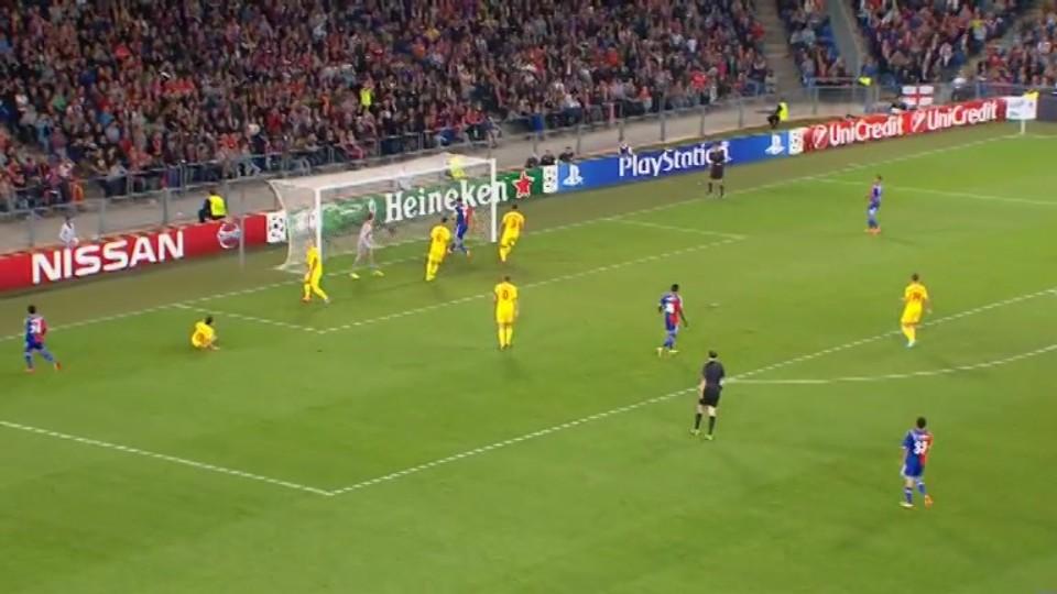 Sestřih zápasu - Basel v Liverpool (1.10.2014)