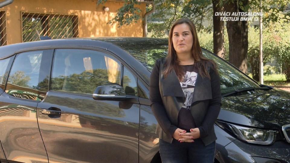 Diváci Autosalonu testují BMW i3
