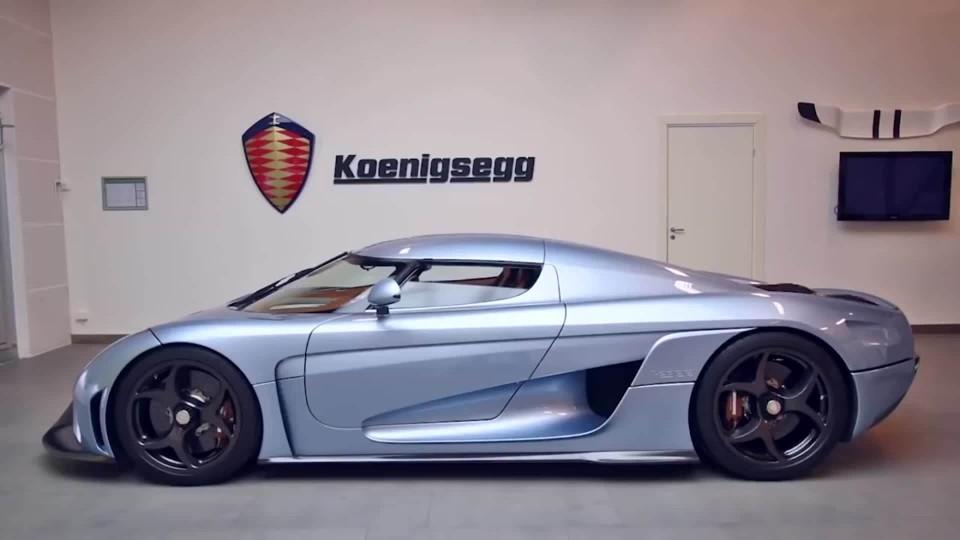 Koenigsegg Regera je jako živý