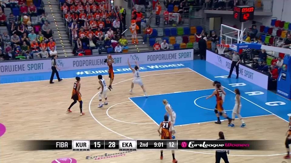 ELW Dynamo Kursk - UMMC Jekatěrinburg 2. čtvrtina