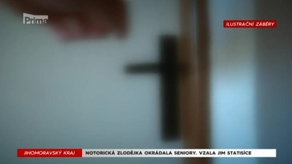 10. 9. 2017 KRIMI: NOTORICKÁ ZLODĚJKA OKRÁDALA SENIORY: VZALA JIM STATISÍCE