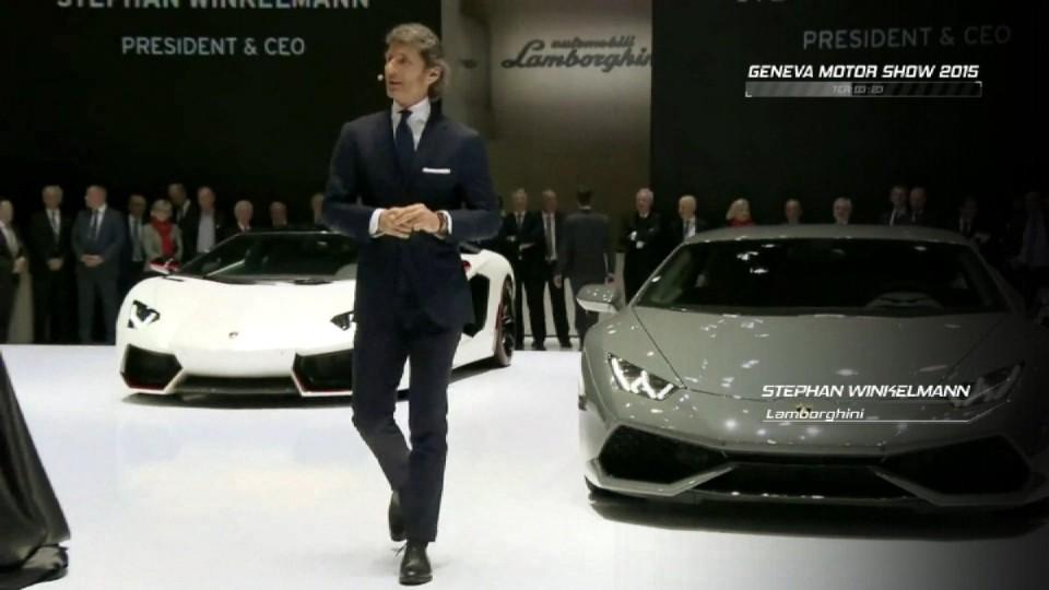 Ženeva - Lamborghini