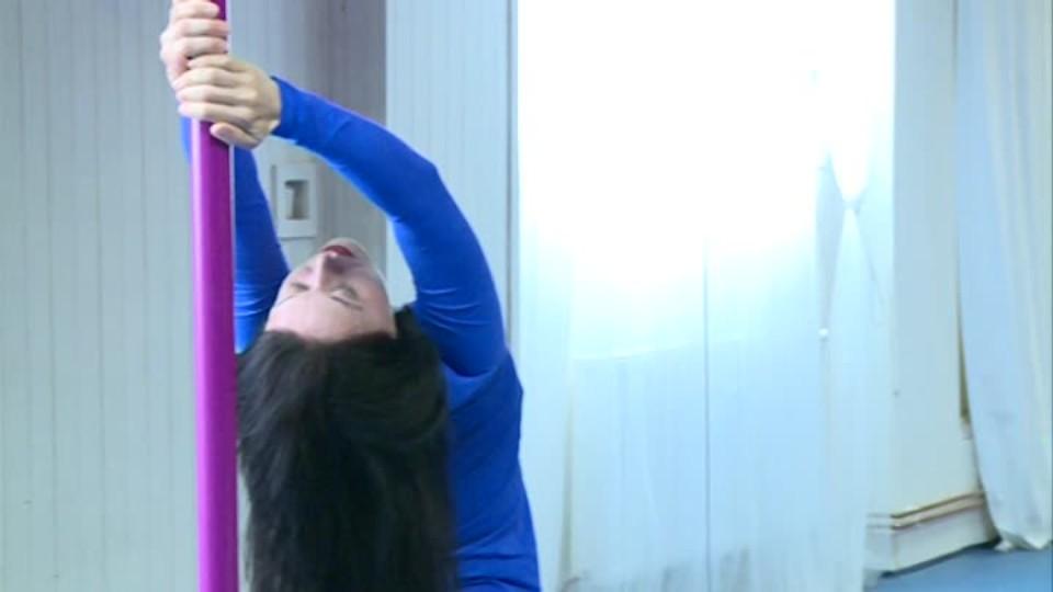 TOP STAR 29.4.2016 - Daniela Choděrová - Pole dance