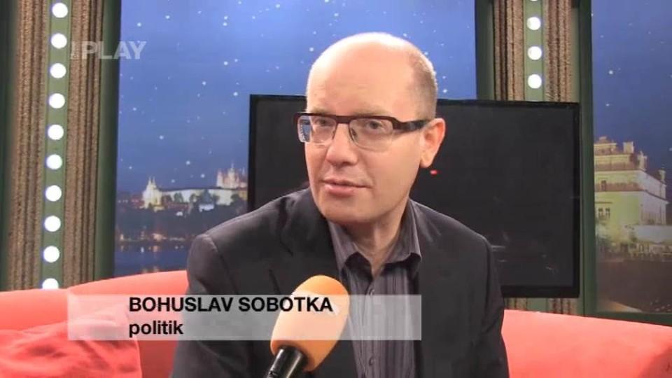 Bohuslav Sobotka - rozhovor 1.11.2013