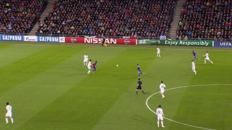 Sestřih zápasu - Basel v Real Madrid (26.11.2014)