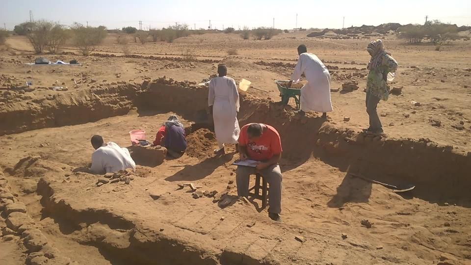 Národní Muzeum - Vykopávky Súdán 5