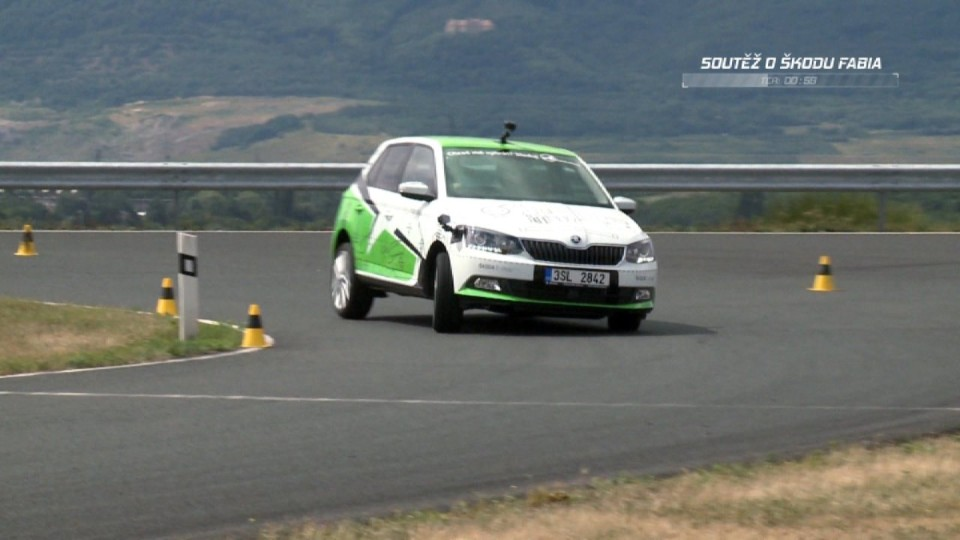 Soutěž o Škoda Fabia desátý týden I. část