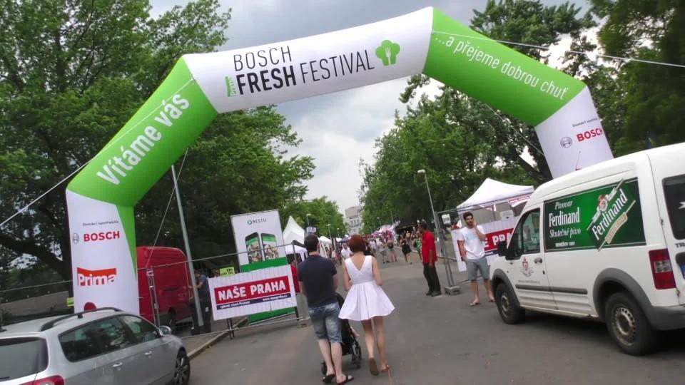 Liův videoblog : Bosh Fresh Food Festival Praha