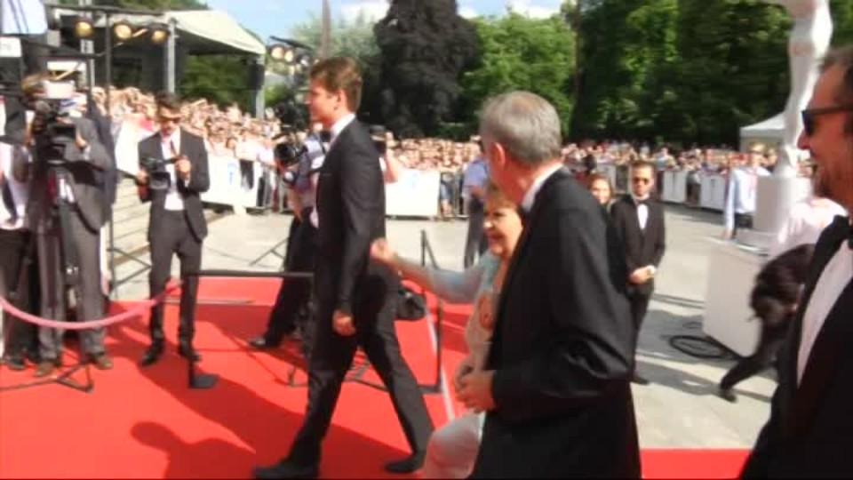 TOP STAR 11.7.2016 - Jiřina Bohdalová v doprovodu s Andrejem Babišem