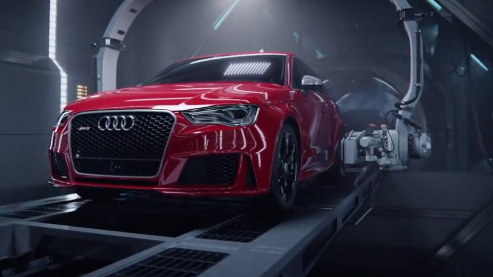 Audi RS3 video