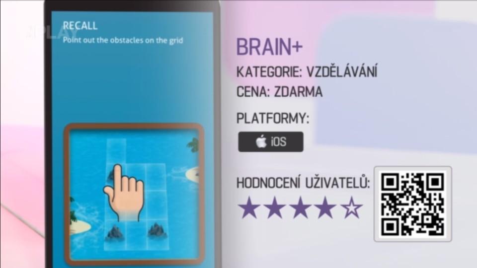 Prima Rádce - Aplikace na trénink mozku