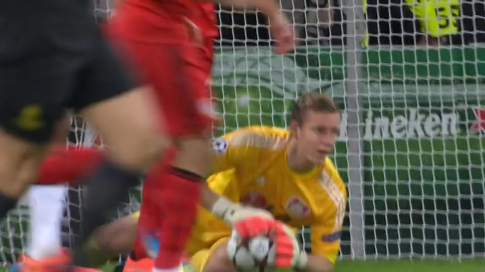 Sestřih zápasu - Leverkusen v Zenit (22.10.2014)