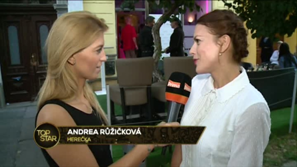 TOP STAR 31.8.2016 - Andrea Kerestešová svatba