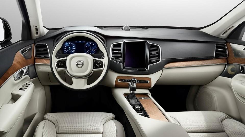 Volvo XC90 - interiér