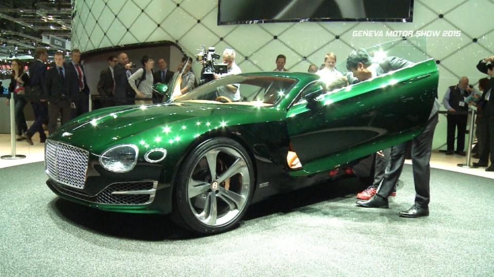 Ženeva - Bentley