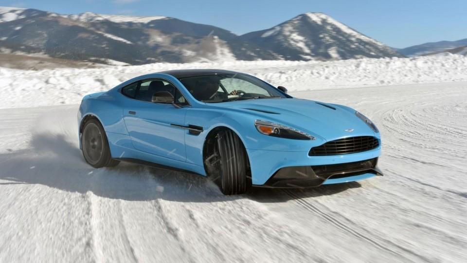 Aston Martin na ledu