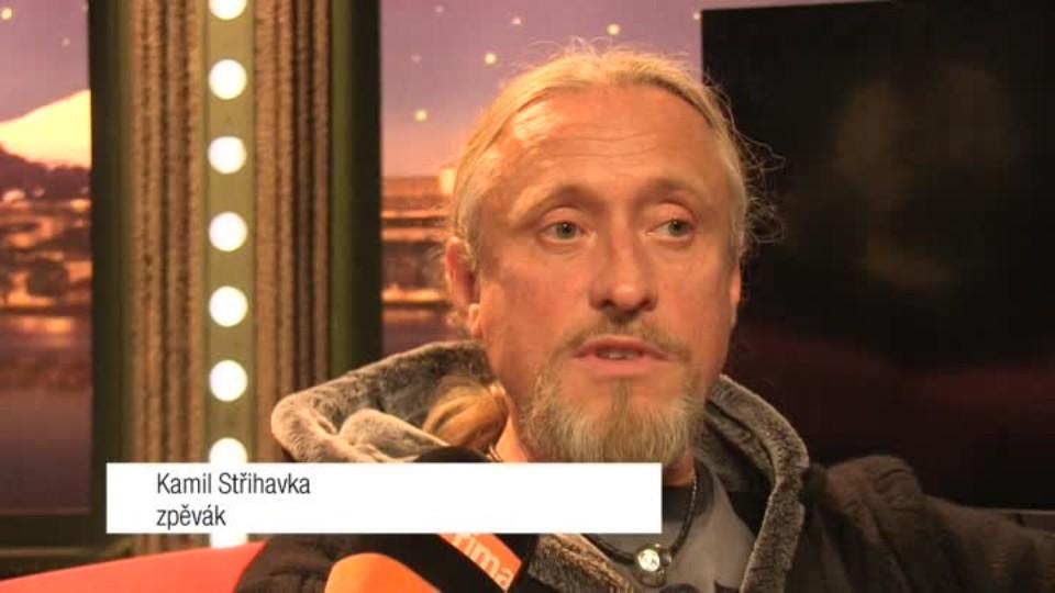 Zpěvák Kamil Střihavka v SJK