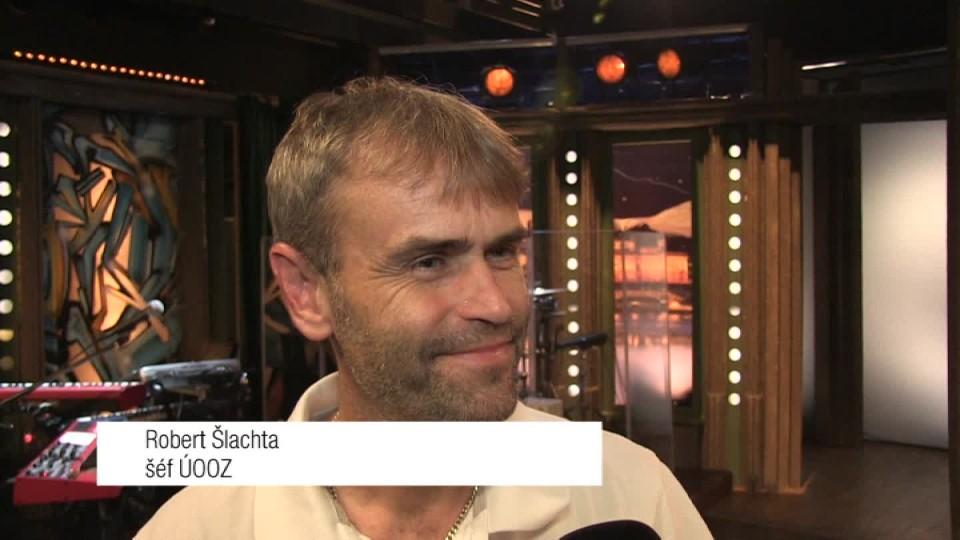 Šéf ÚOOZ Robert Šlachta v SJK