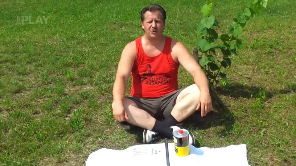 Úkol pro Trosečníky - Mini gril
