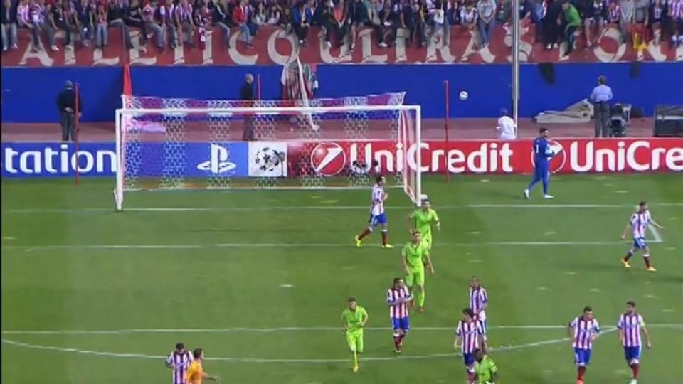 Sestřih zápasu - Atletico v Juventus (1.10.2014)