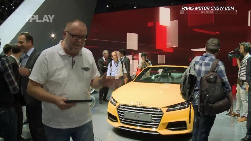 Audi TTS Roadster + Audi TT Sportback Concept