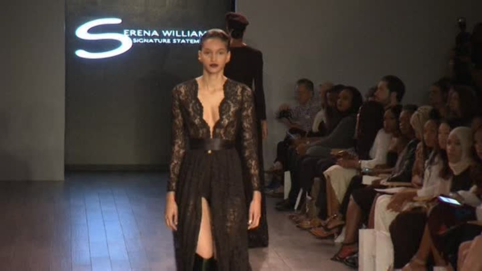 TOP STAR 13.9.2016 - Serena Williams - módní kolekce