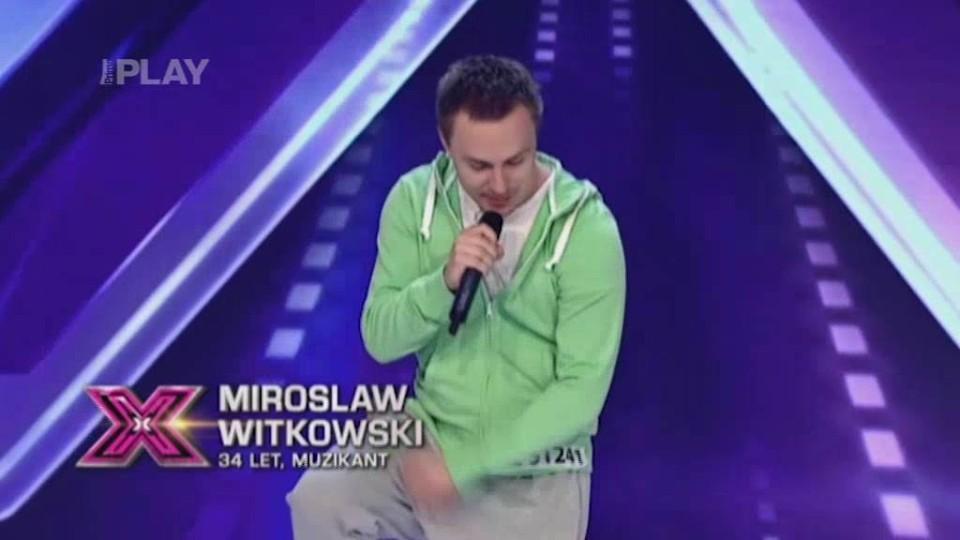 X Factor (6) - nejlepší vystoupení - Miroslaw Witkowski