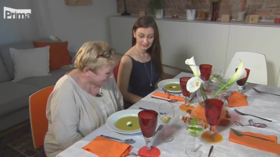 Prostřeno - A další falešná mrkvová polévka
