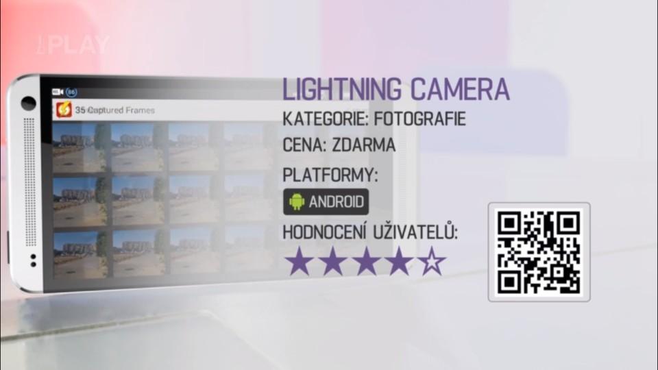 Prima Rádce - Aplikace LIGHTNING CAMERA