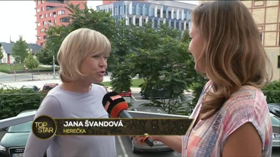 TOP STAR 4.8.2016 - Jana Švandová rozhovor
