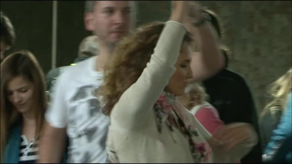 TOP STAR 28.5.2016 - Tanec v metru Andrea Košťálová