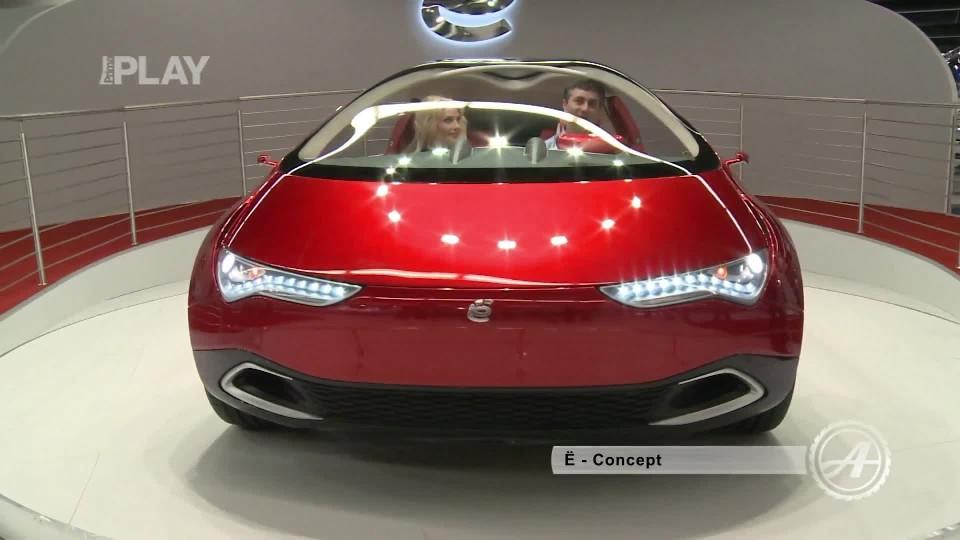 E-Auto Crossover + Concept