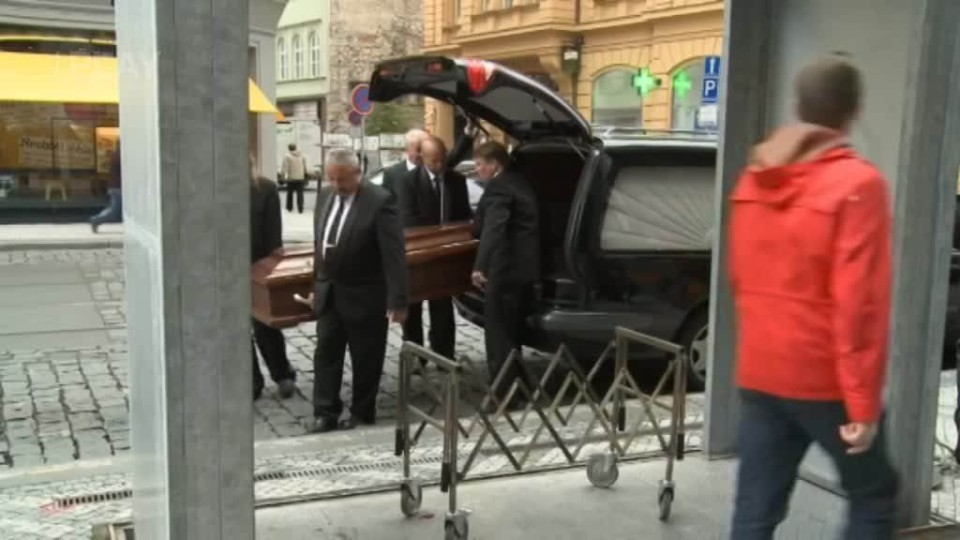 TOP STAR - Lubomír Lipský - Pohřeb